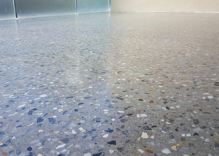 Full Exposure Polished Concrete Floor