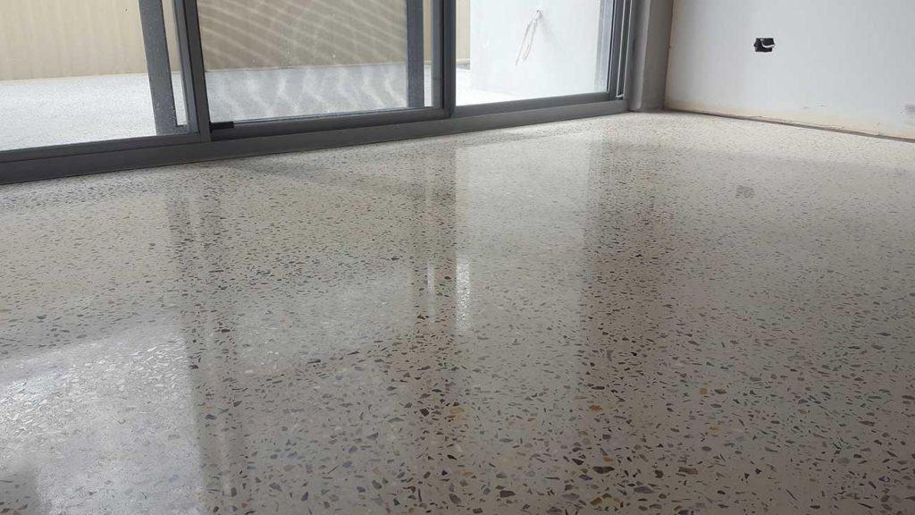 Fully Exposure Polished Concrete Floor
